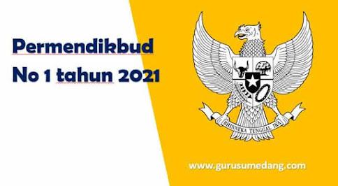 Permendikbud no 1 tahun 2021 tentang PPDB