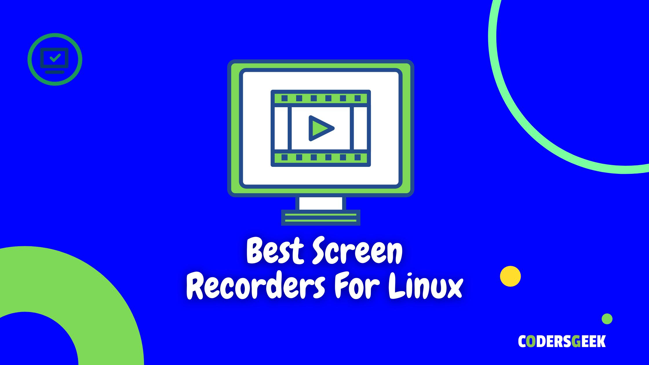 Best Screen Recorder For Ubuntu Linux Desktop