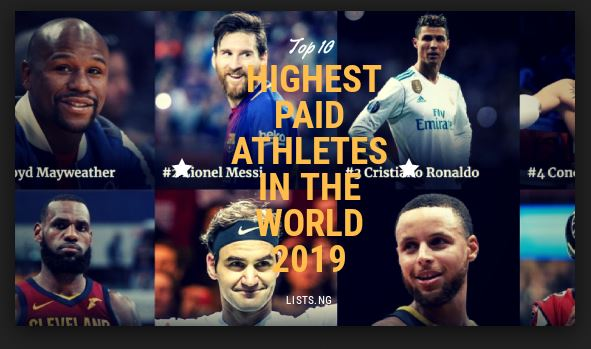 Lionel Messi beats Cristiano Ronaldo and Floyd Mayweather to top of world sport's rich list