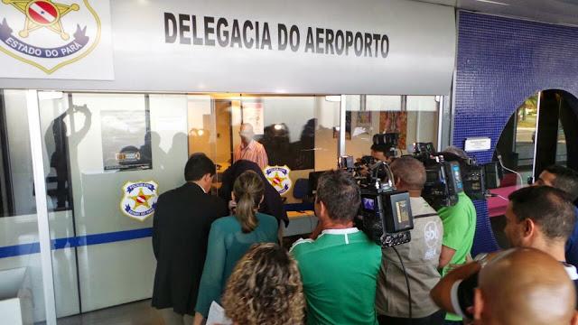 Resultado de imagem para PRISÃO AEROPORTO DE BELÉM