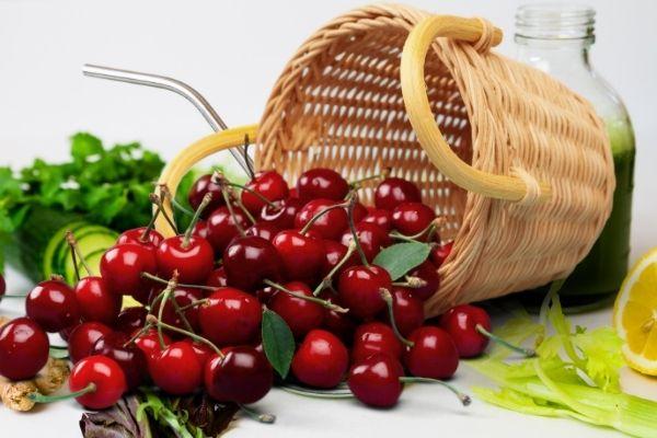 Quả Anh Đào là thực phẩm tốt cho bệnh gout