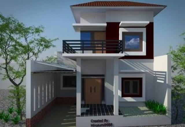 Bentuk Rumah Sederhana tapi Elegan dan Mewah, rumah sederhana tapi mewah 2 lantai