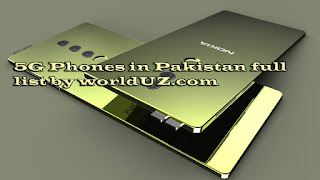 5g phones in pakistan