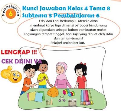 Kunci Jawaban Kelas 4 Tema 8 Subtema 3 Pembelajaran 6 www.simplenews.me