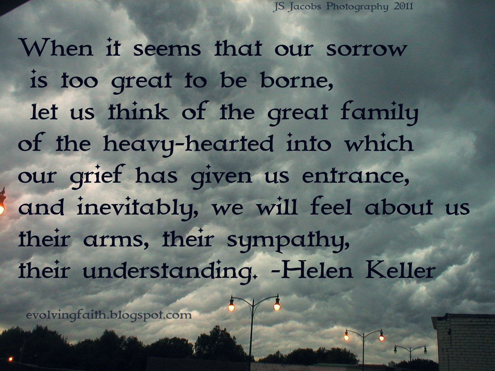Thoughts on Grief and Loss