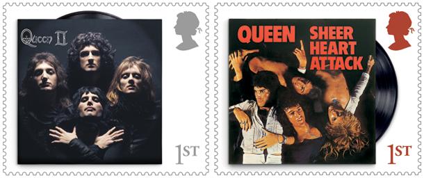 Queen Stamps 1