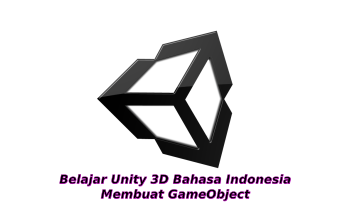 Membuat GameObject