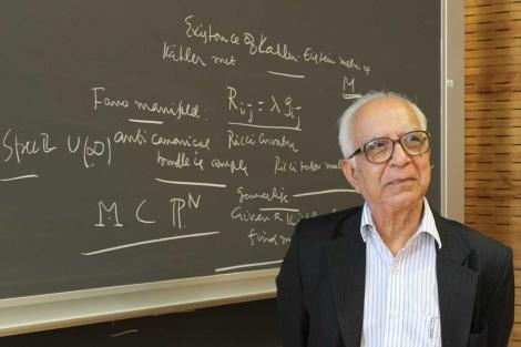 Entrevista com o professor M. S. Narasimhan: Matemática para escapar da pobreza