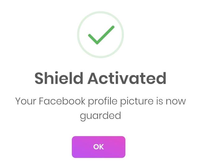cara aktifkan perisai facebook