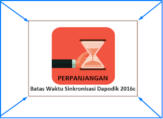 Perpanjangan Waktu Sinkronisasi Untuk Perbaikan Data Calon Peserta UN 2107