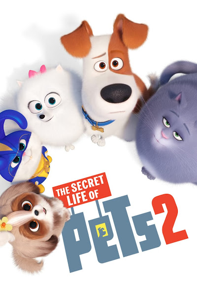 Poster of The Secret Life of Pets 2 (2019) Dual Audio [Hindi-DD5.1] 720p BluRay ESubs Download