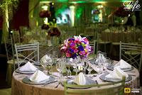 festa de formatura em direito realizada no salão dos espelhos do clube do comércio em porto alegre por life eventos especiais com decoração elegante luxuosa sofisticada e requintada em tons de rosa roxo pink dourado