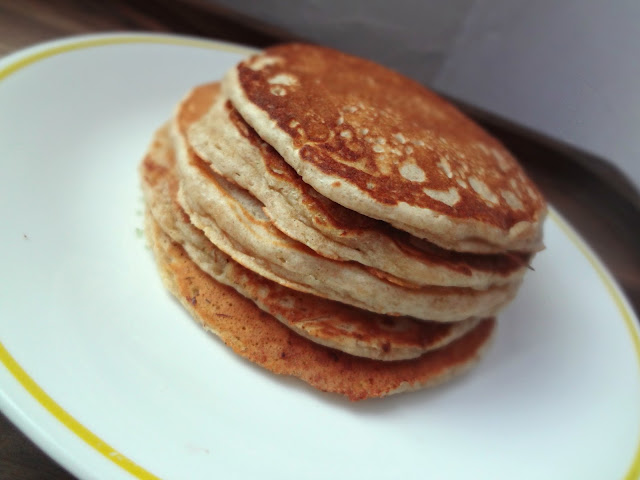 Whole Wheat Brown Butter Pancakes