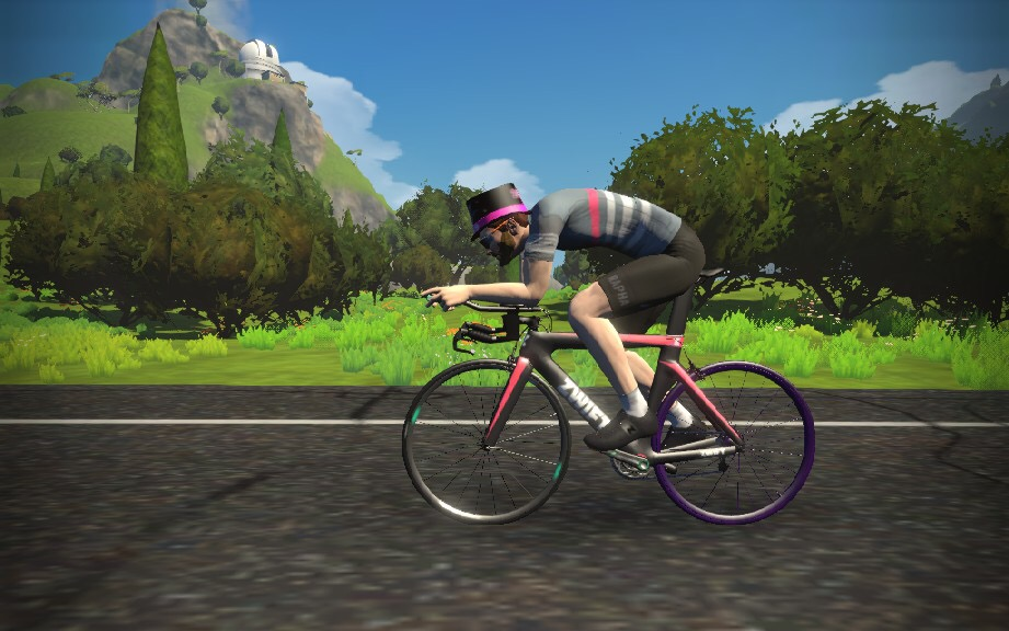 My Tour de Fitness: I've Discovered Zwift