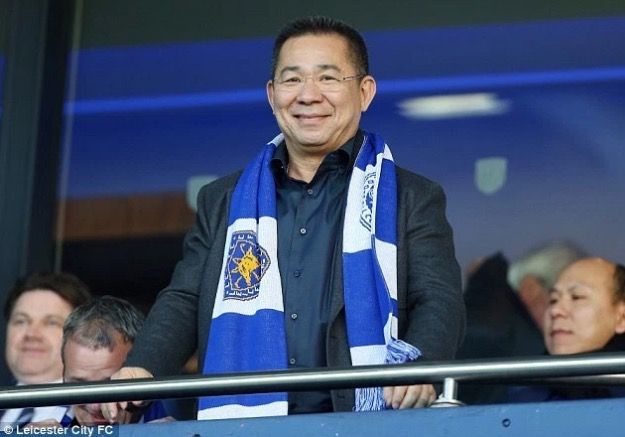 Pengerusi Kelab Bolapsepak Leicester City Menang Judi RM14.2 Juta