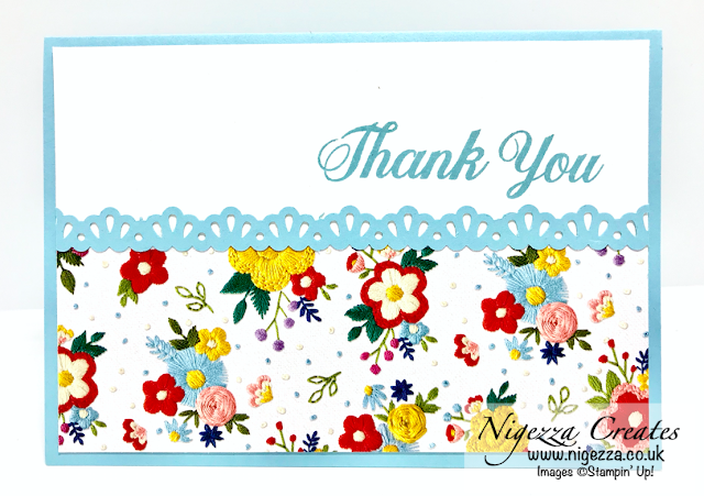 Nigezza Creates With Stampin' Up! & Needle Point Nook OSW One Sheet Wonder