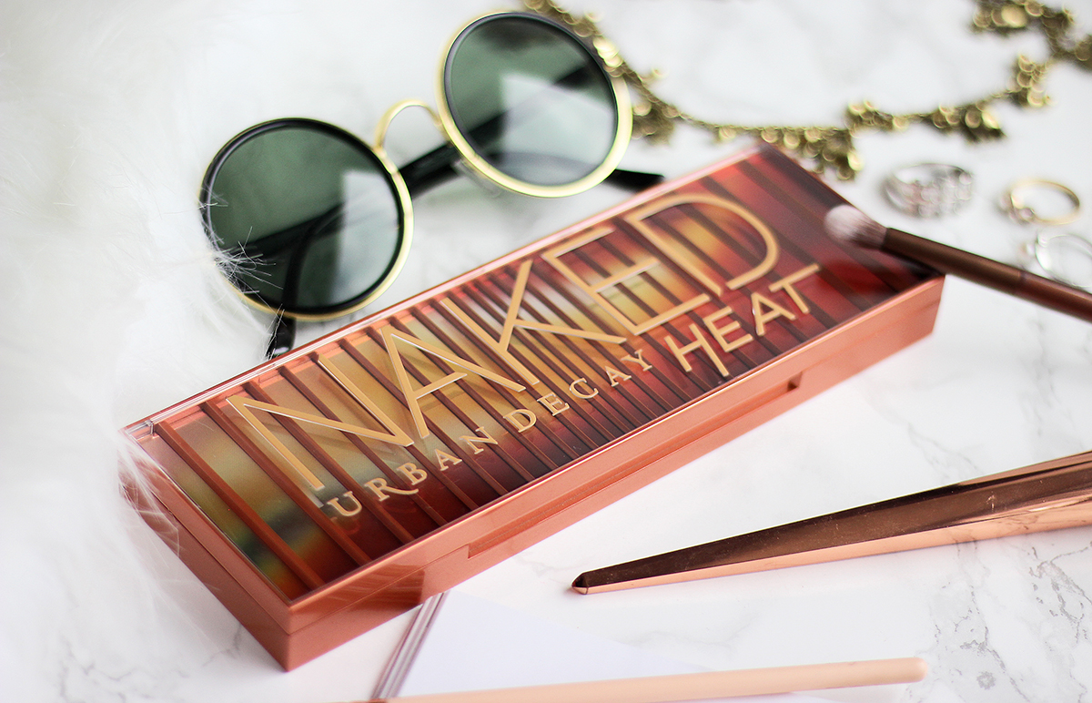 Urban Decay | Naked Heat Paletka Recenze