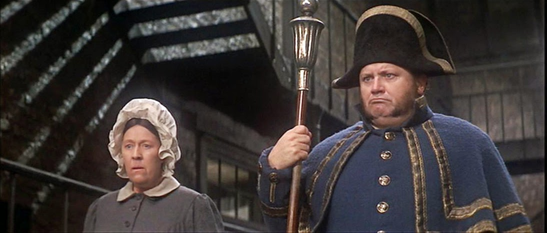 dreams are what le cinema is for oliver  peggy mount and harry secombe as mrs mr bumble the harshness of dickens characters is leavened considerably by these roles assayed by comic actors
