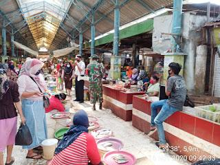 Operasi Yustisi Petugas Gabungan Ke Pedagang Pasar Jepara 2