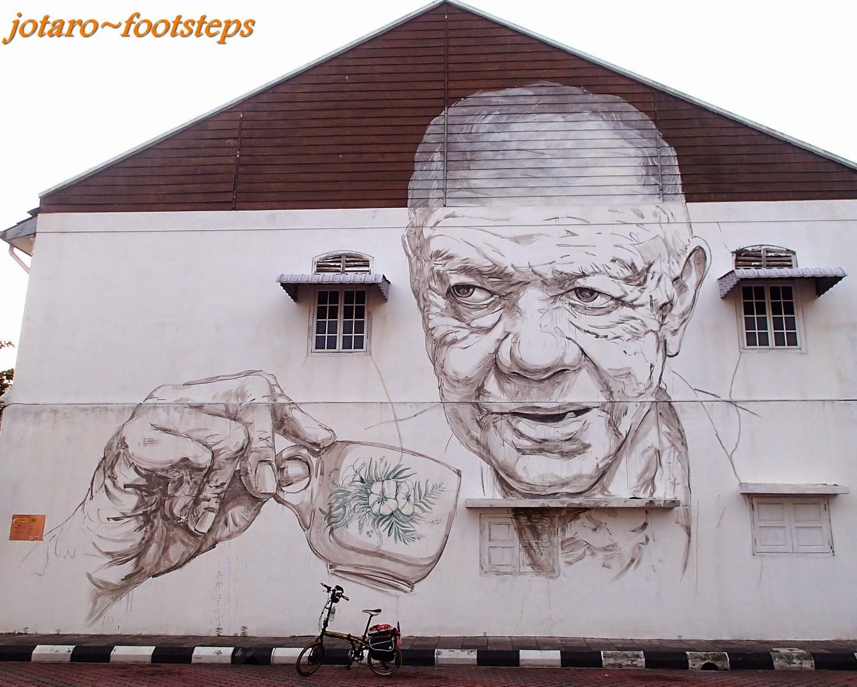 Footsteps jotaros travels gallery street art of ipoh