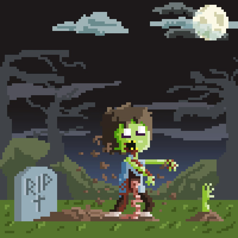 It Is Strong, The Blog Is!!!: My Pixel Art Collection