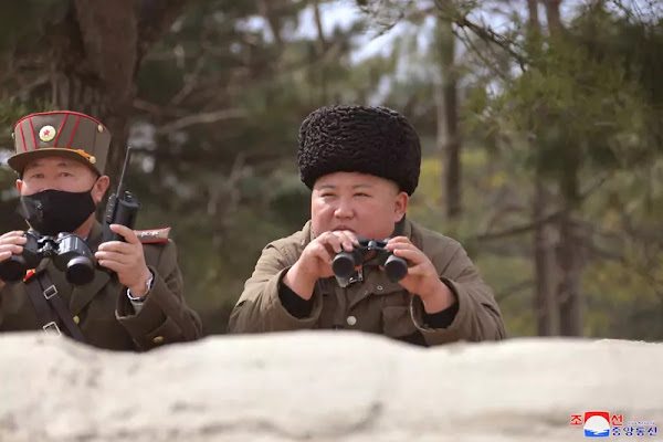Kim Jong Un guides another artillery firepower strike drill, March 9, 2020