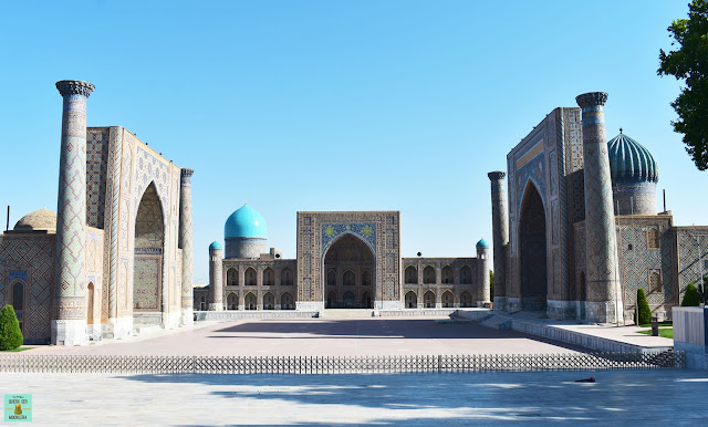 Plaza Registan en Samarkand