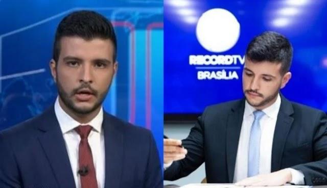 Matheus Ribeiro não é bem recebido pela equipe da Record Brasília