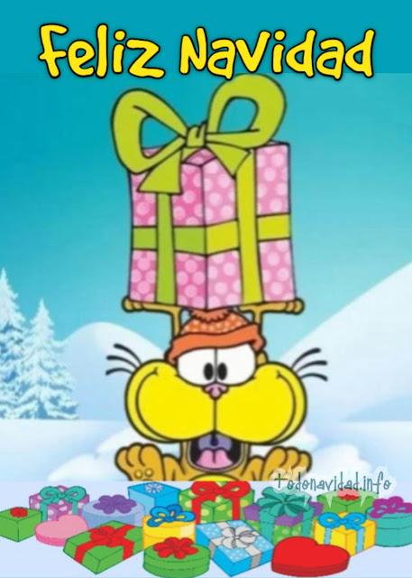 Feliz Navidad con Gaturro