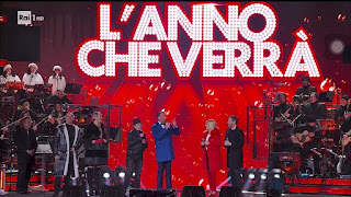Rai Uno's New Year's Eve party, L'anno che  verrà, is scaled back this year
