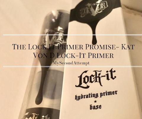 The Lock It Primer Promise- Kat Von D Lock-It Primer