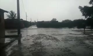 Chove mais de 100mm em Nova Palmeira e marca é a maior já registrada na cidade