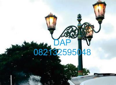 jual tiang lampu,pabrik tiang lampu,tiang lampu jalan antik