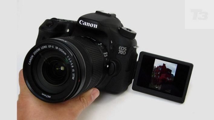 Canon EOS 70D vlog kamerası