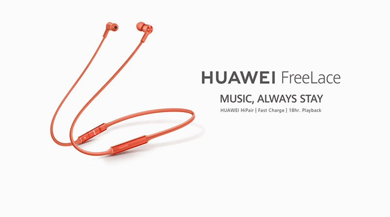 Huawei FreeLace Bluetooth in-ear earphones arrives in PH, priced at PHP 3,490