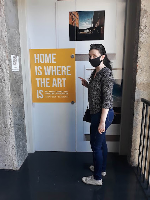 Entrance to Home Is Where The Art Is at Zeitz Mocaa