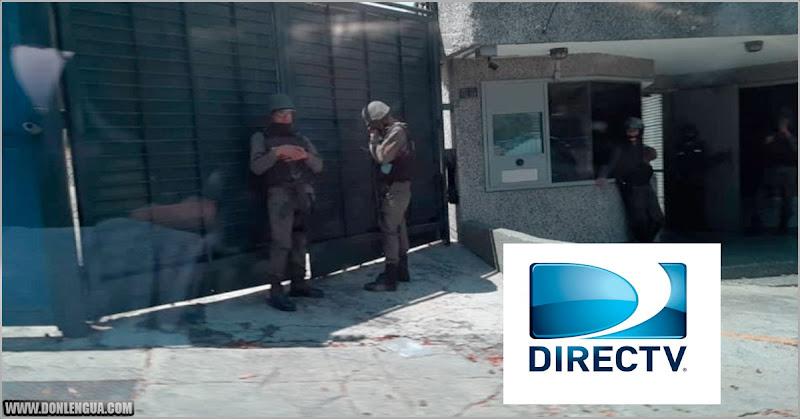 LADRONES | Funcionarios del régimen invadieron todas las instalaciones de DirecTV