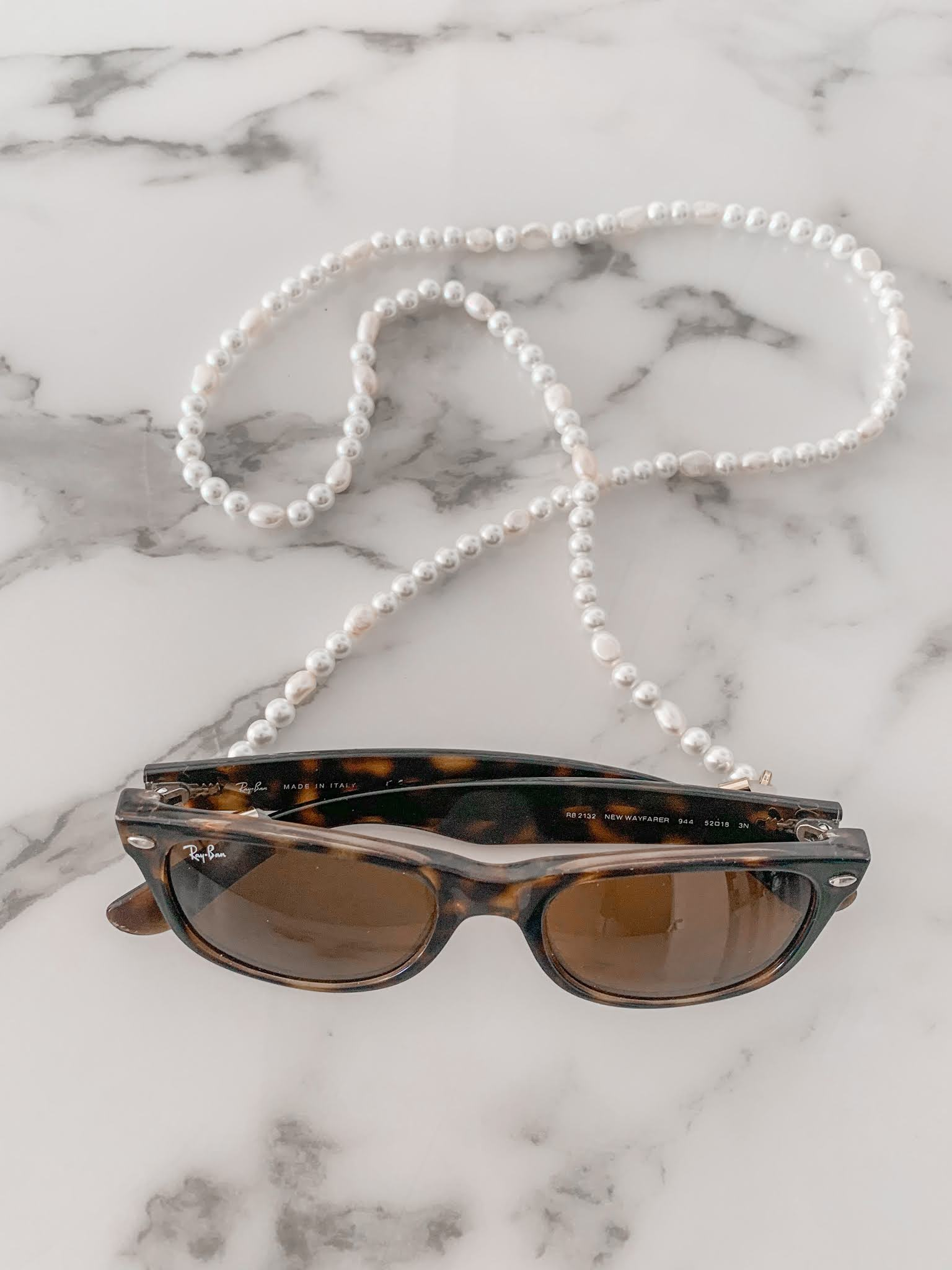 How to use a sunglass chain for your face mask