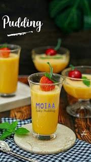 Pudding Moiia Praktis dan Bermacam rasanya