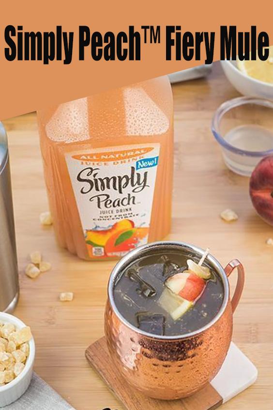 Simply Peach™ Fiery Mule