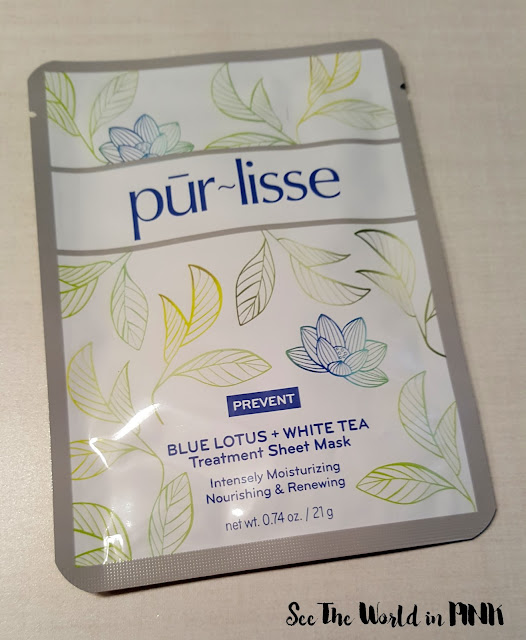 Pur~lisse Sheet Mask Product Review