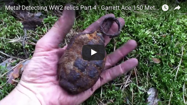 dug up ww2 relics germany
