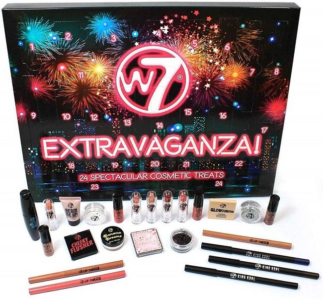 Calendario de Adviento 2019 de W7 Extravaganza