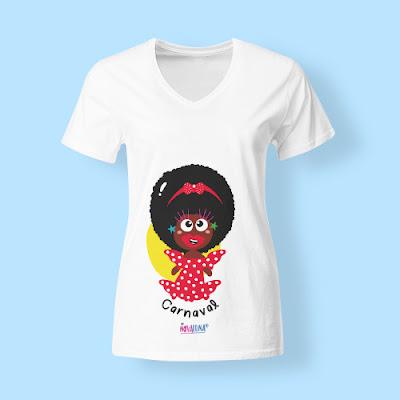 Camiseta Negrita