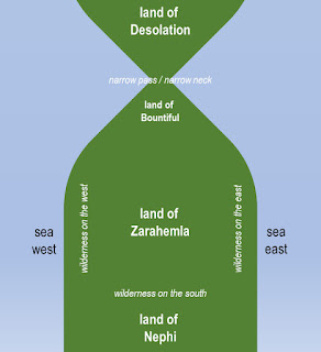 General arrangement of Nephite lands, created by Peter Pan for the Neville-Neville Land blog