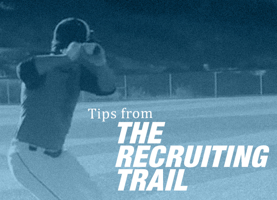 A look at how to build a baseball recruitment video