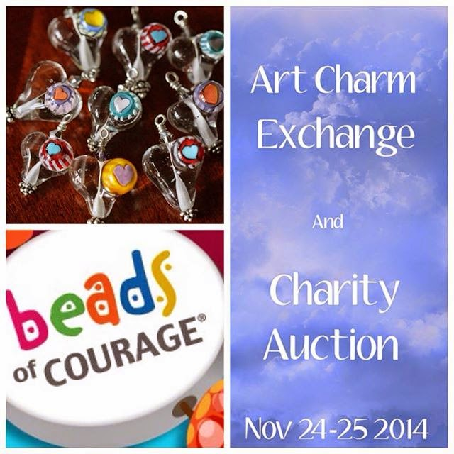 Art Charm Exchange and Charity Auction: Nov. 24th - 25th, 2014 :: All Pretty Things