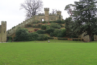 The Motte at Warwick Castle