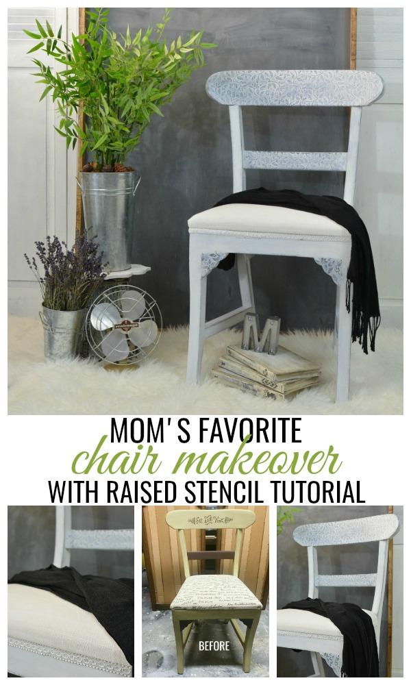 Mom's Favorite Chair Makeover