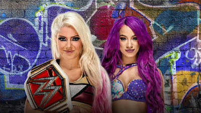 Alexa Bliss versus Sasha Banks Raw Women's Championship